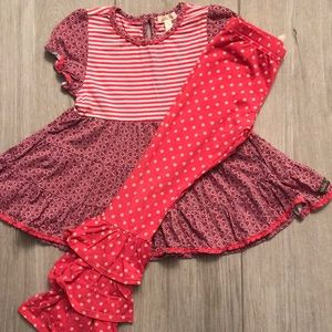 2 piece Matilda Jane Outfit Size 6